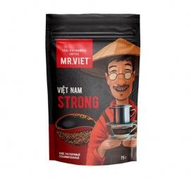 Кофе растворимый сублимированный MR.VIET ROBUSTA 75 гр